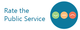 Rate the Public Service Logo and Link to other Government Website for Rating